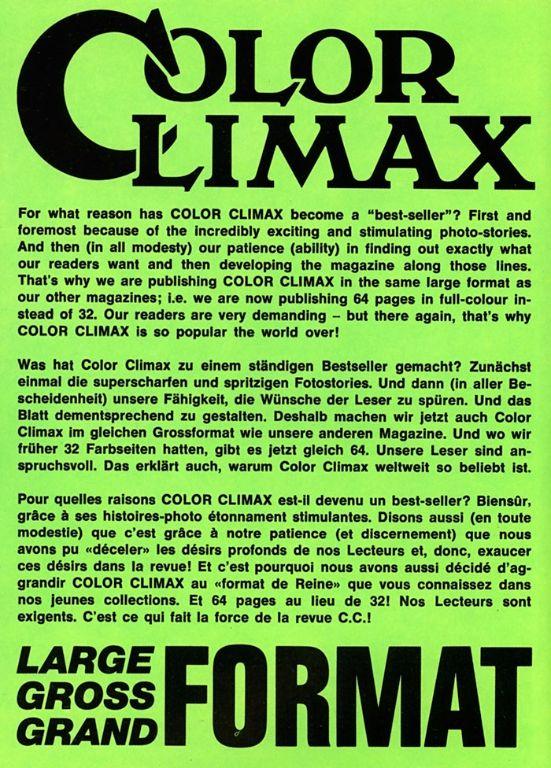 Color Climax Film 1256 - Porno Party » Vintage 8mm Porn